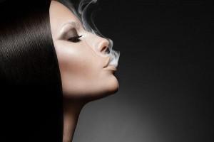 E Cigarettes Girl