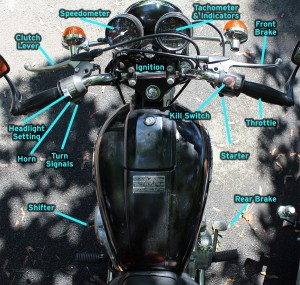 Motorcycle Controls
