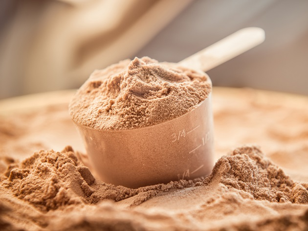 whey based protein powder