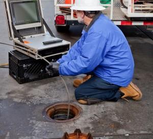 sewer drain camera